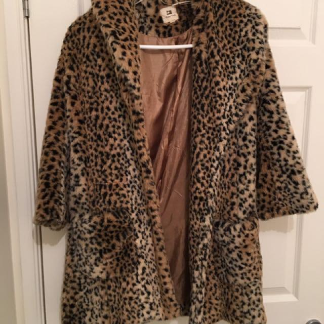 Vintage leopard jacket