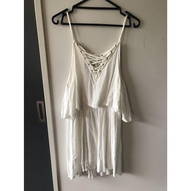 WHITE ASOS SUMMER DRESS
