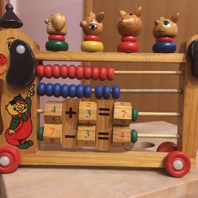 Wooden Numerical Toy