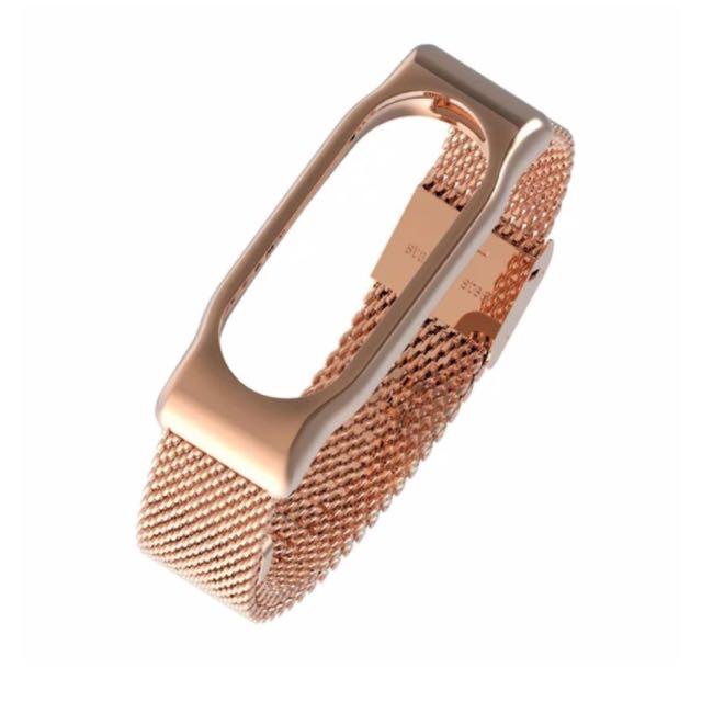 Xiaomi Band 2 Rosegold strap