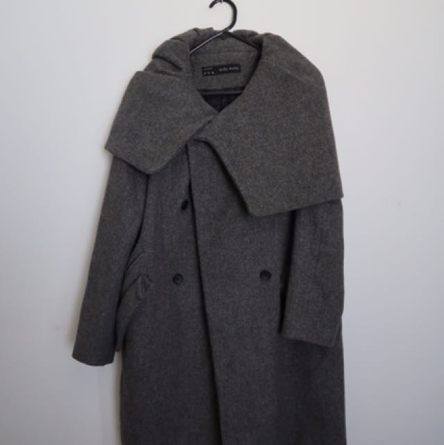 Zara Grey Warm Coat
