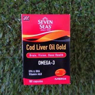 Seven Seas Cod Liver Oil 100caps