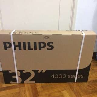 "Philips 32"" digital ready LED TV"