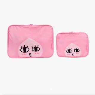 全新現貨• Kakao Apeach 旅行袋/收納袋 (L)