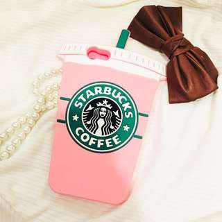 iPhone 6 Case - Baby Pink Starbucks