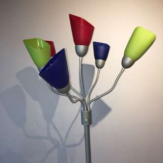 Colourful Adjustable Lamp