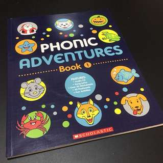 BN Scholastic Phonics Adventures Book 1 with Audio CD
