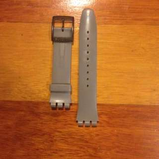 Swatch 19mm Silicone Strap + Buckle
