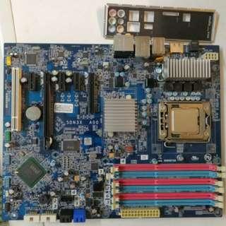 Dell LGA1366底板加X5650 cpu