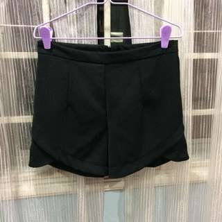 Black Casual Shorts