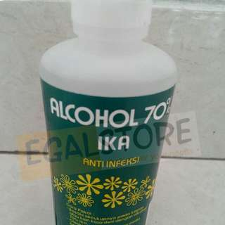 Alcohol 70% Ika 100mL