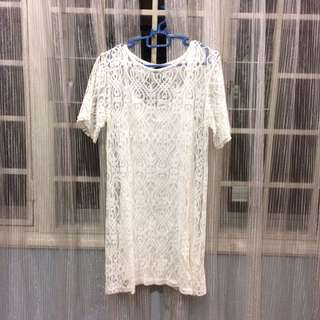 Something Borrowed Lace Dress