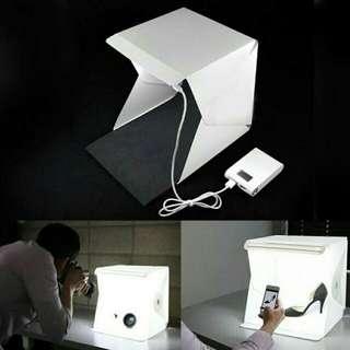 💣Hot Stuff💣 LIGHTROOM Mini Photo Studio Box Built-in Light Photography Backdrop