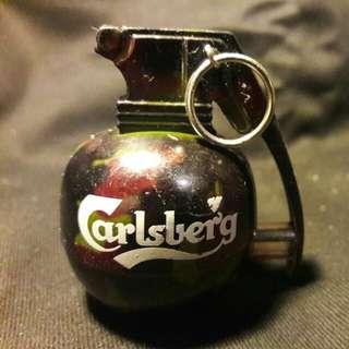 Carlsberg 嘉士伯手榴彈形打火機