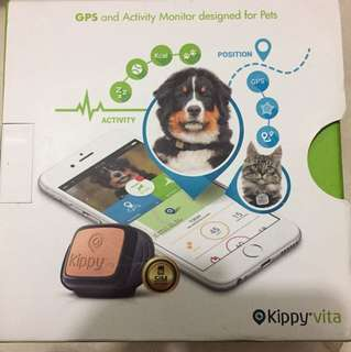 Kippy Vita GPS And Activity Monitor Designed For Pets