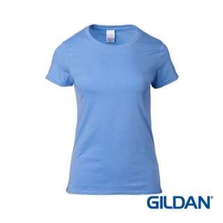 76000L Gildan Ladies T-Shirt - Carolina Blue 109C