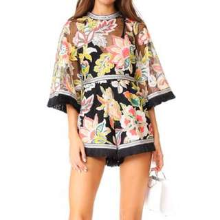 ALICE MCCALL GEORGIE BOY PLAYSUIT