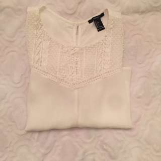 Forever21 Cropped Blouse