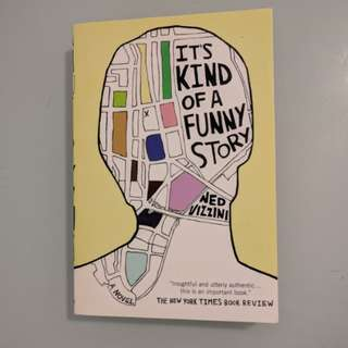 It's Kind of a Funny Story by Ned Vizzini YA book