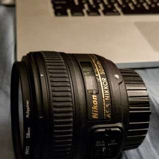 Nikon Prime Lens 50mm 1.8g