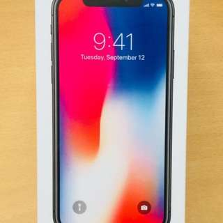 IPHONE X 64GB SPACE GRAY NOT ACTIVATE