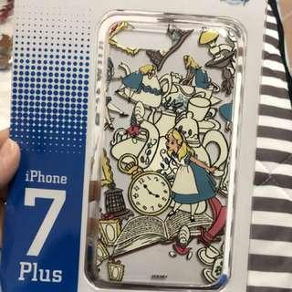 I Phone 7Plus 愛麗絲電話殼購置迪士尼樂園