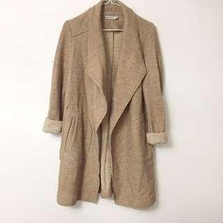 Zara style crossover coat