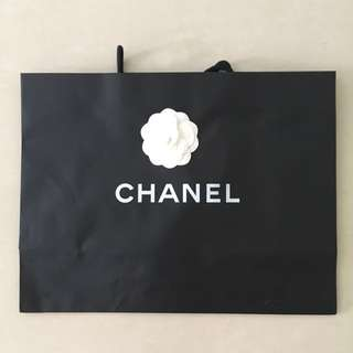 💯 Authentic Chanel Paperbag (Medium)
