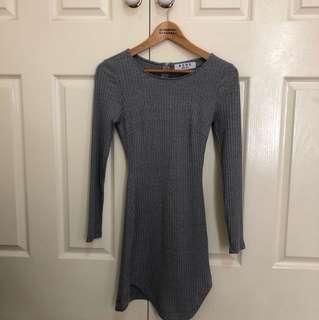 ACHE grey long sleeve dress