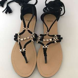 Novo shoes. Ladies sandals. New. Never worn.  size 7