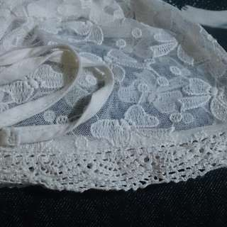Topi baby lace