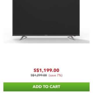 PANASONIC TH55EX400S 55 IN ULTRA HD 4K SMART LED TV