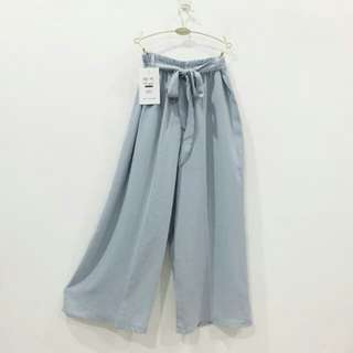 Baby blue culottes