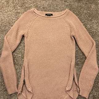Pink sweater sizeM