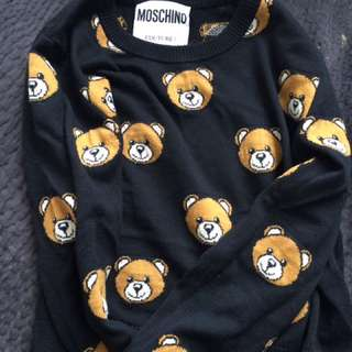 Moschino Authentic Teddy Jumper