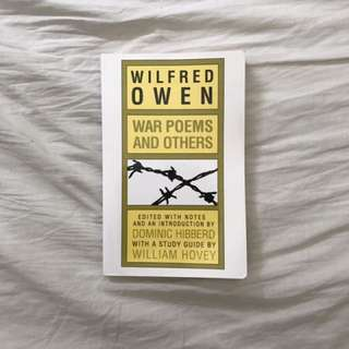 Wilfred Owen's War Poems and Others