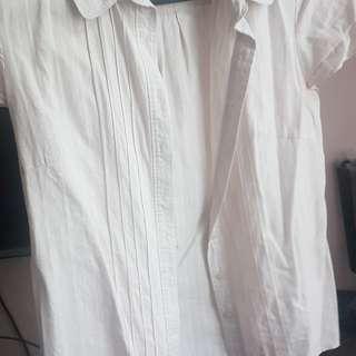 A collar button no fuss top shirt woman #flashsale11 #11flashsale