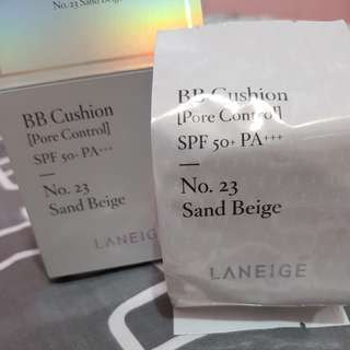 LANEIGE BB Cushion Pore Control (Refill only) no. 23 sand beige