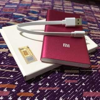 Xiaomi powerbank 5000 16000 mAh