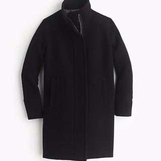 Stadium Cloth Cocoon Coat J Crew