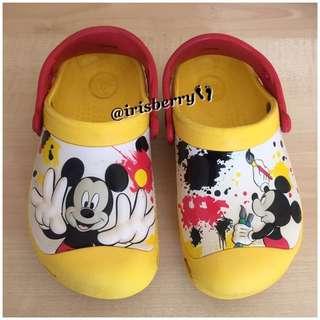 💟 Authentic Crocs Mickey Shoe