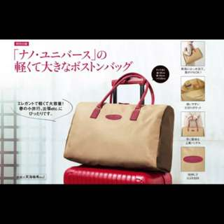 日本Nano & Universe Boston Bag