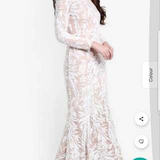 Zalia Sequin Dress (RENTAL- Size M)