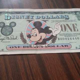 迪士尼1元