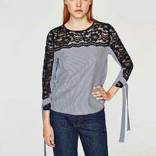 Zara inspired Lace blouse