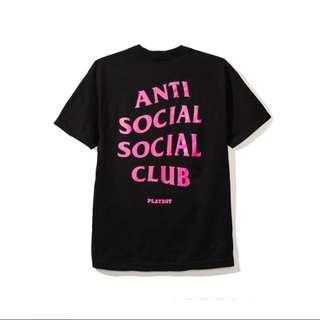 Anti Social Social Club x Playboy - Tee (M)