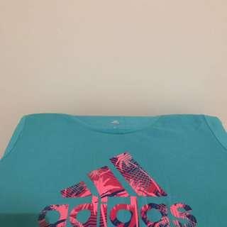 Teal Adidas Tshirt