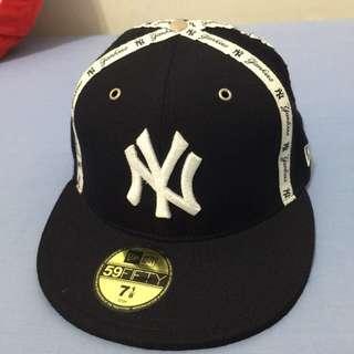 二手NEW ERA棒球帽 紐約洋基全封帽