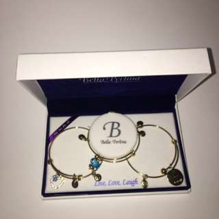 Bella Perlina Charm Bracelet Set