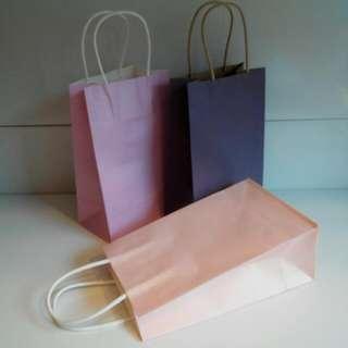G232 - Elegant Plain Gift Paper Bags